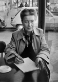 Simone de Beauvoir, Paris, 1978