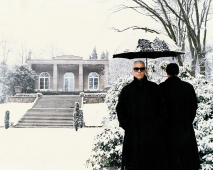 Karl Lagerfeld, Hambourg, Allemagne, 1995
