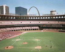 Busch Memorial Stadium, St. Louis, Missouri, 1978