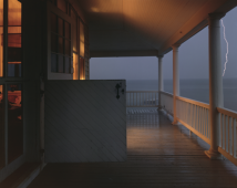 Porch, Provincetown, Massachusetts, 1977