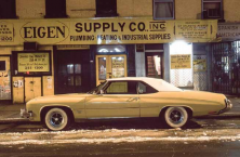 Eigen Supply car, Buick Centurion Convertible, 24th Street near 6th Avenue, 1976