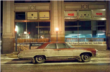 Subway Impala, Chevrolet Impala, 7th Avenue and 29th Street, 1975
