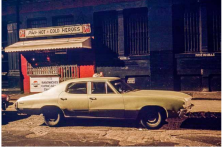 Pat's Hot & Cold Heroes car, Buick Skylark, Soho, 1976