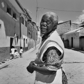 """Afro-bolivienne"", Chicaloma, Bolivie, 2010"