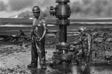 Greater Burhan Oil Field, Kuwait, 1991