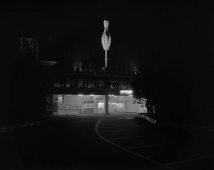 Night Photographs N-018, Chigasaki City, Kanagawa Prefecture (Bowling Alley) 1982