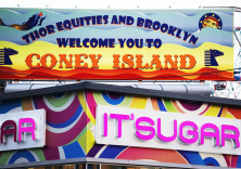 """Welcome to Coney Island"", Brooklyn, 2013"