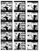 "Filmstrips from ""Broadway by Light"" #1, New York, 1958"