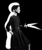Dorothy + Light Gun, Paris, 1962