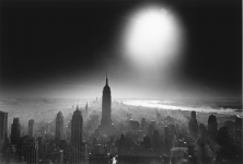 Atom Bomb Sky, New York, Etats-Unis, 1955