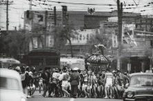 Festival Ceremony to Honor a Neighborhood (here Nippori) God, Tokyo, 1961