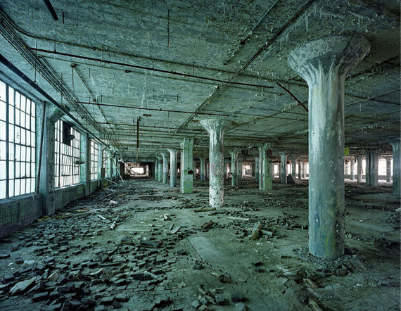 Fisher Body Plant 21, Detroit, USA, 2008