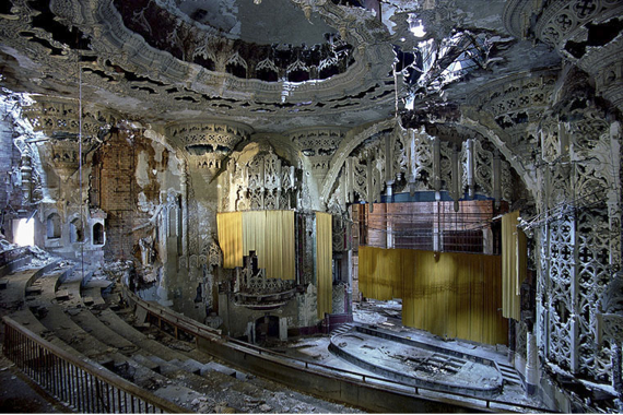 United Artists Theater, Detroit, USA, 2005