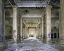 Ticket lobby, Michigan Central Station, Detroit, USA, 2005-2010
