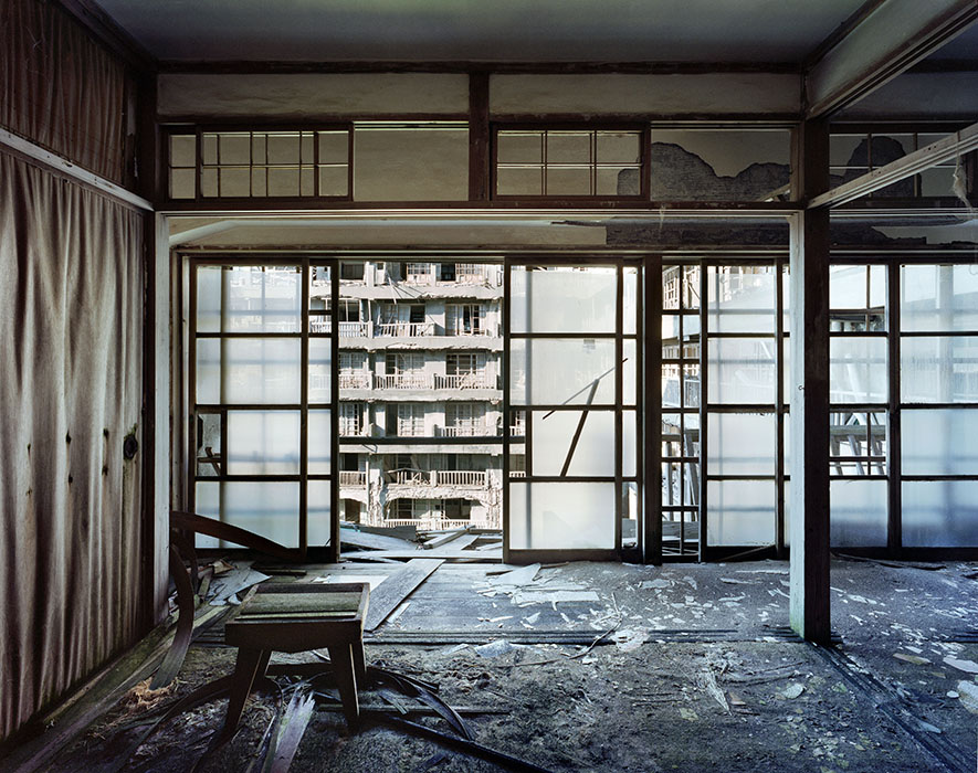 Appartement, bâtiment 65, Ile d'Hashima, Japon, 2008