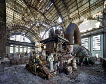 Generator room, Port Richmond Power Station, Philadelphia, 2007