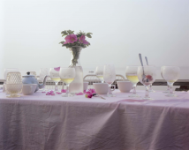 Dinner Table, Provincetown, Massachusetts, 1983